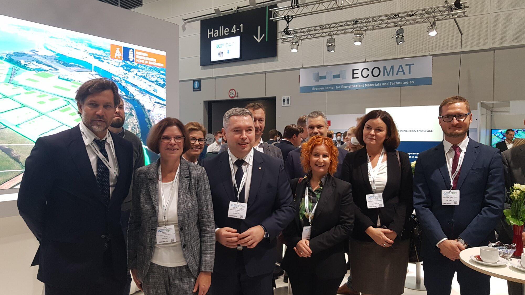 Spotkanie z Kristiną Vogt, Senator Bremy do spraw gospodarki, pracy i Europy