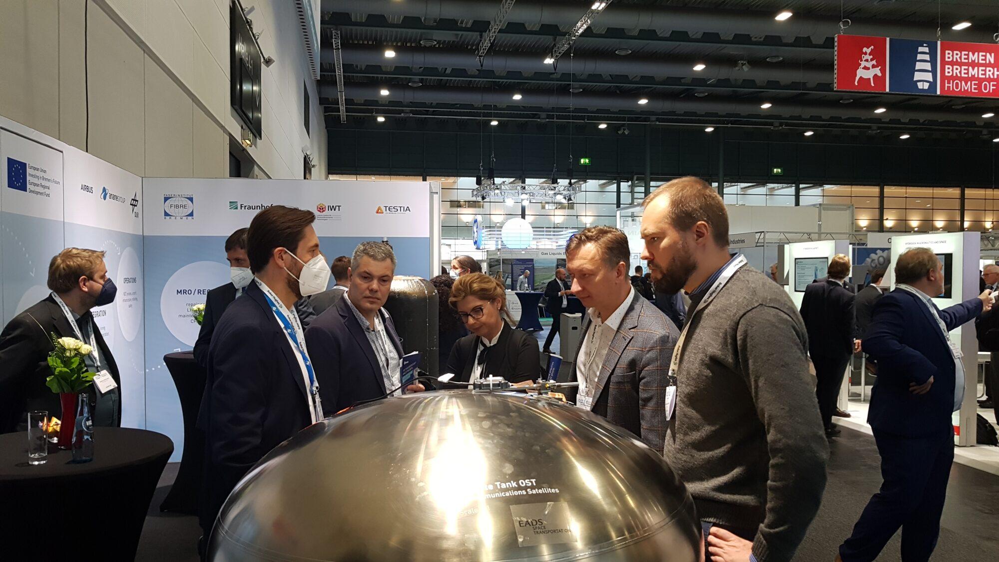 Spotkanie z przedstawicielami centrum naukowo-technologicznego ECOMAT w Bremie