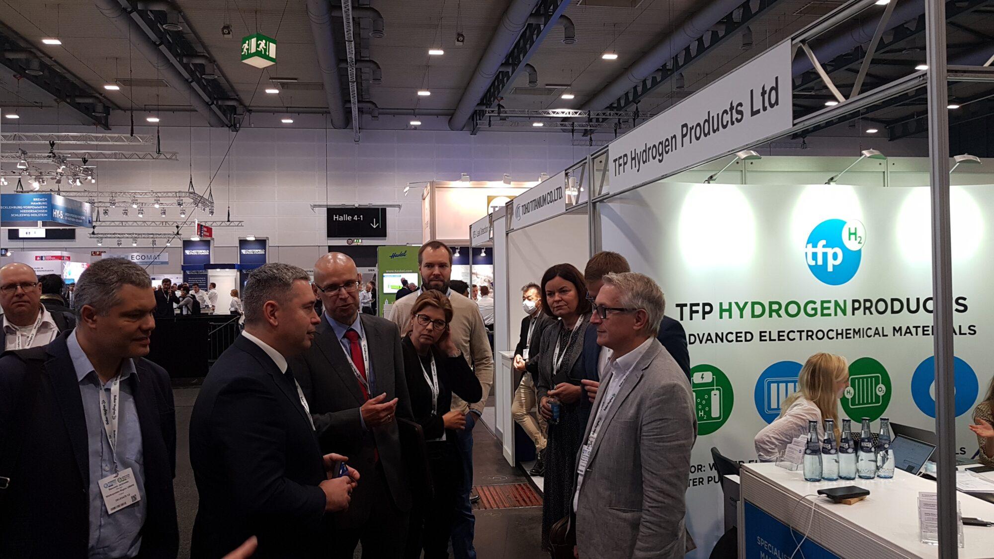 Spotkanie z przedstawicielem TFP Hydrogen Products