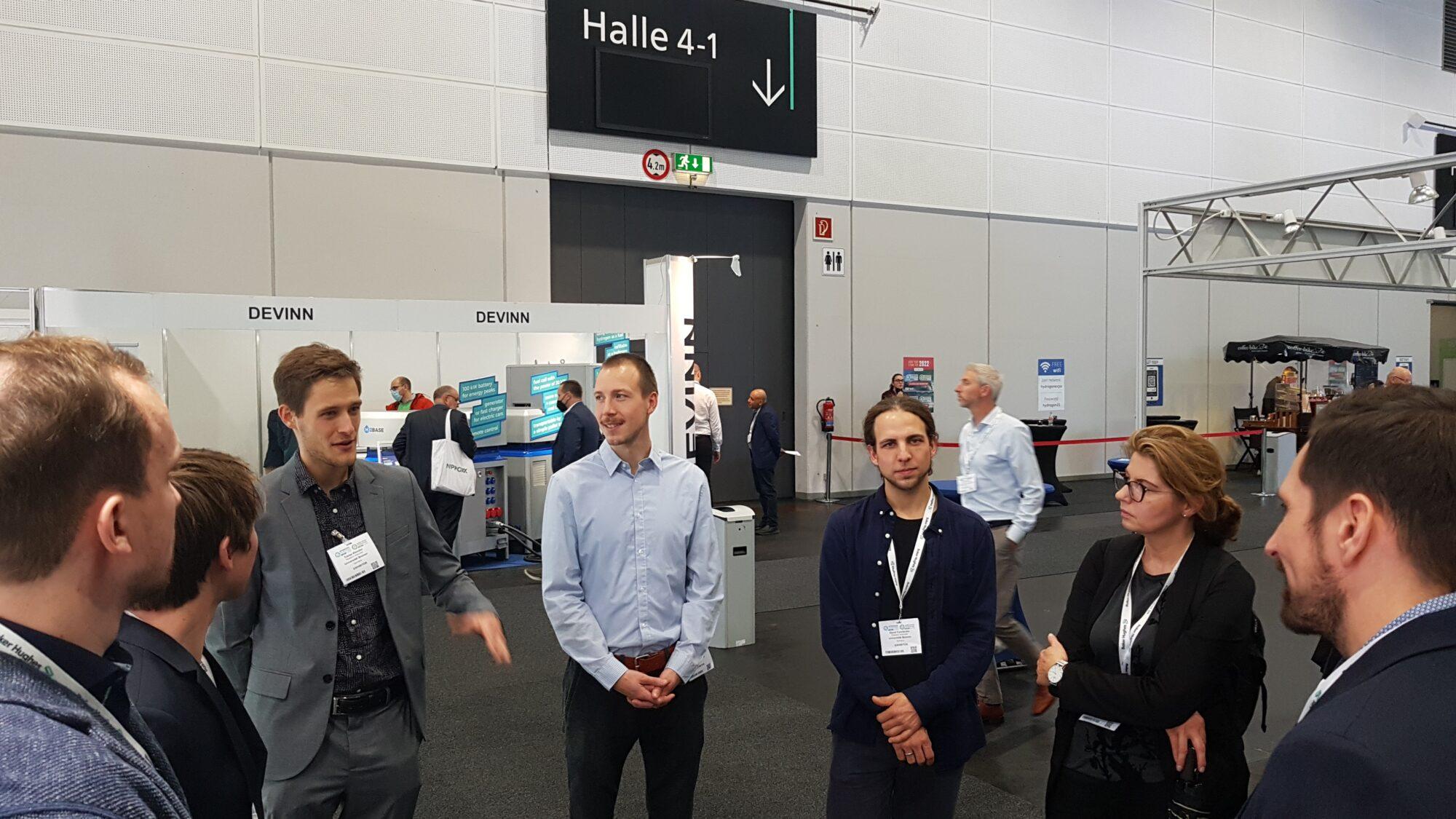 Spotkanie z przedstawicielami projektów H2B i HyTracks